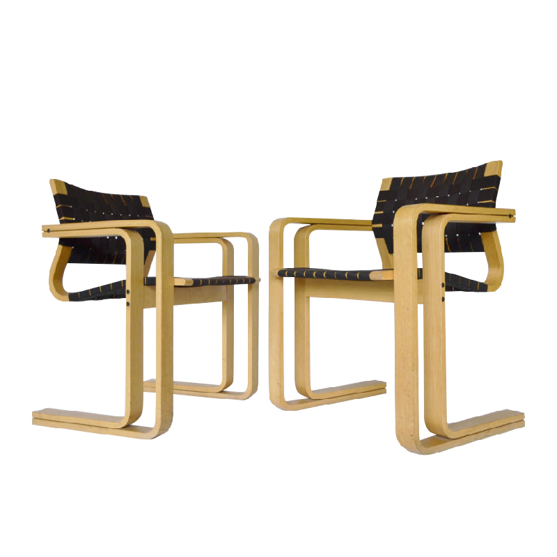 Products Model 5531 Chairs by Rud Thygesen & Johnny Sørensen for Magnus Olesen, 1950s, Set of 2