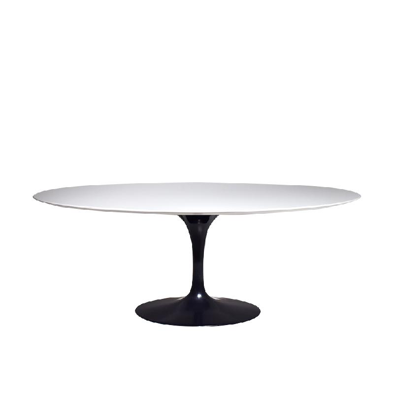 Dining tulip table oval top 198cm | Eero Saarinen | Knoll