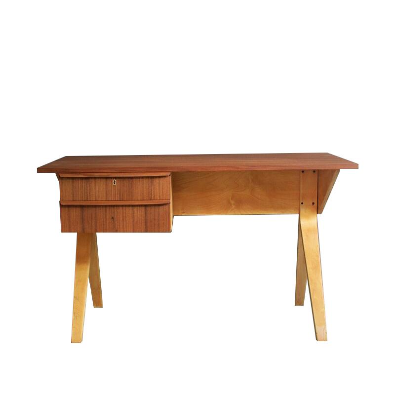 Cees Braakman Eb02 Desk From Birch Serie.
