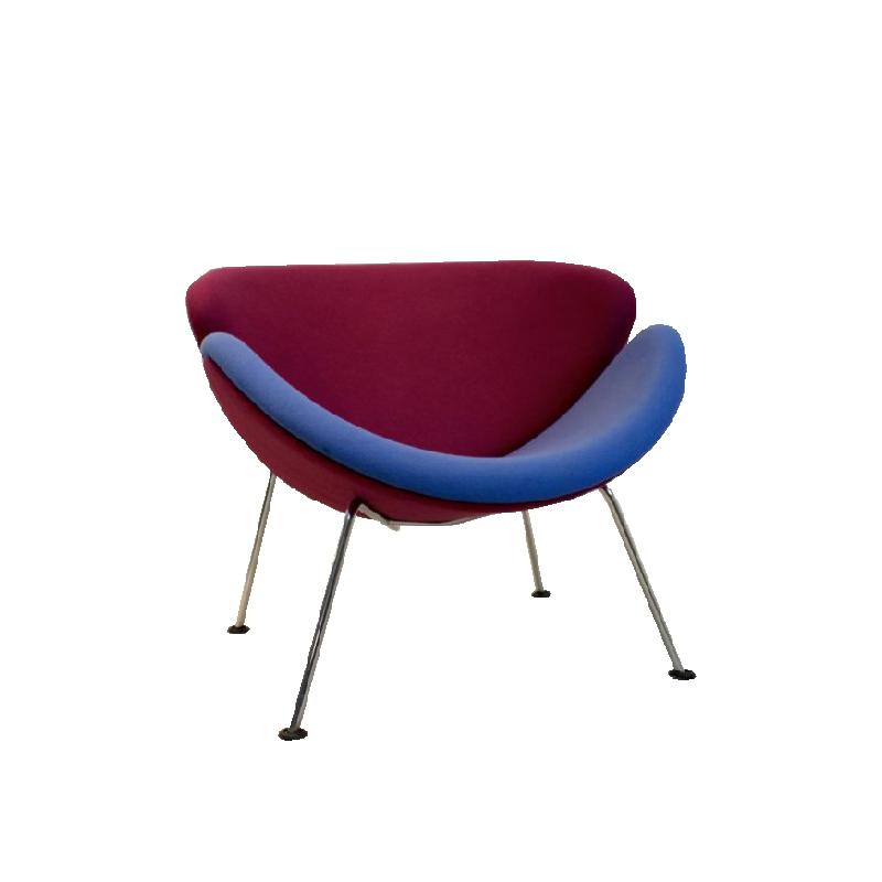 Artifort F437 Orange Slice Chair by Pierre Paulin