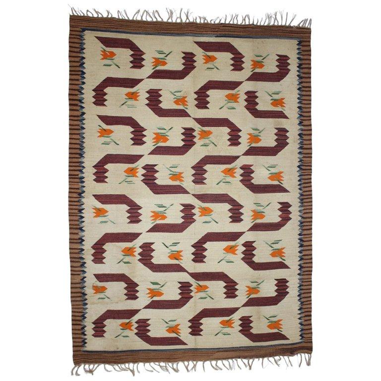 Art Nouveau / Art Deco Carpet, 1930s