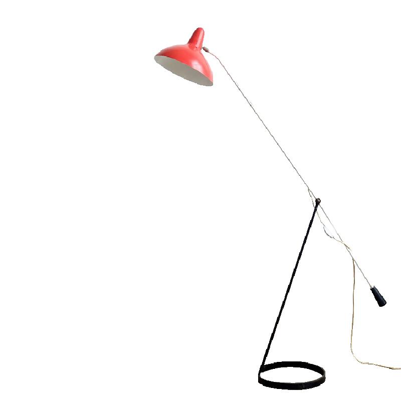 Tivoli Grasshopper Counterweight Floor Lamp by Floris Fiedeldij for Artimeta 1956