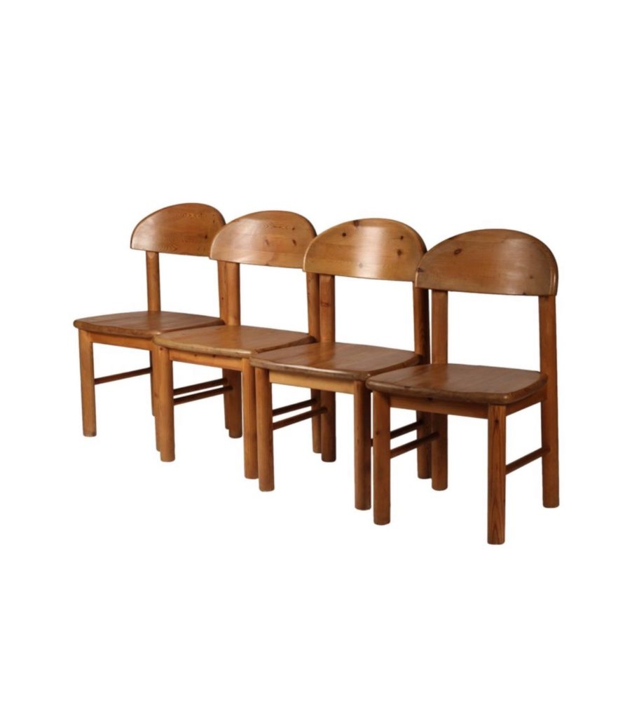 Set of Four Dining Chairs by Rainer Daumiller for Hirtshals Sawmill.