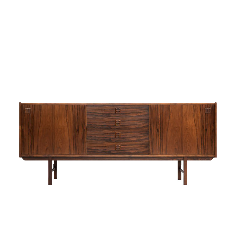 compact Danish sideboard in rosewood 1960s