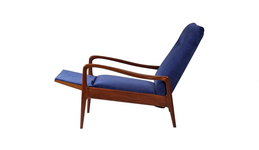 Mid-Century Modern Reclining Lounge Chair by Greaves and Thomas