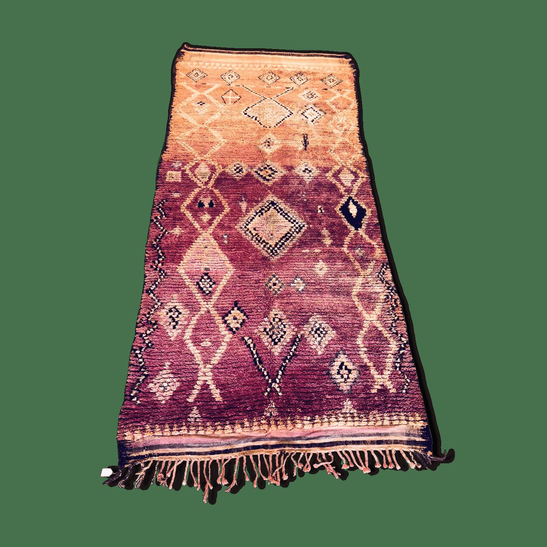 Berber Moroccan boujaad rug 410×180 cm