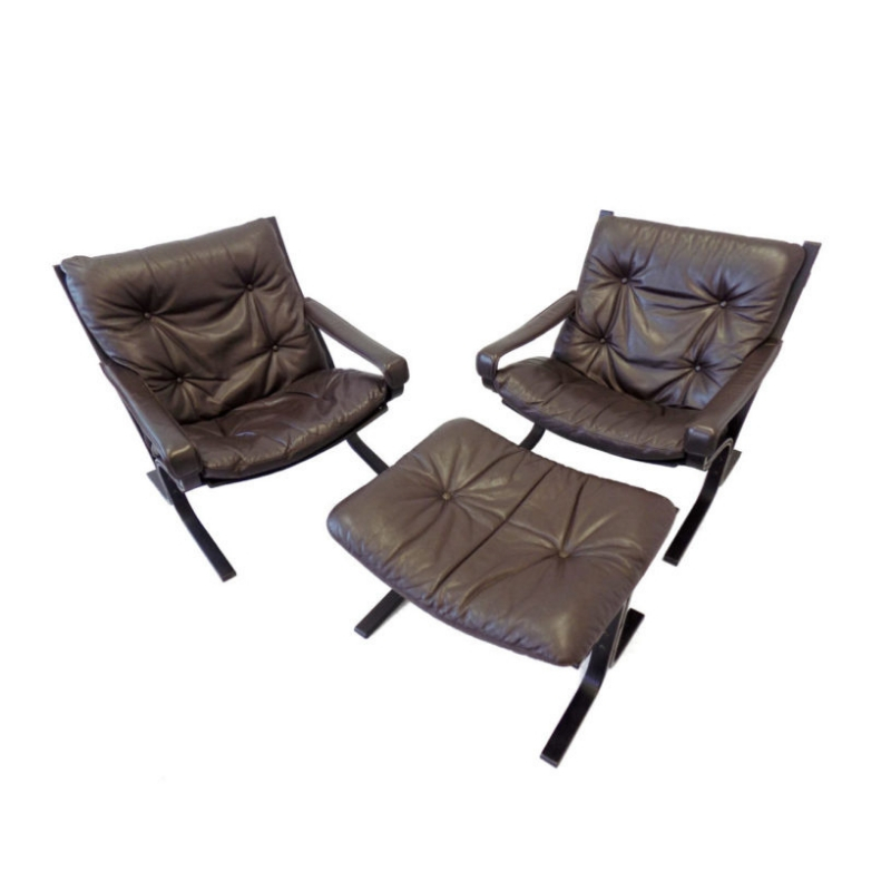 Siesta Chairs with Ottoman from Westnofa
