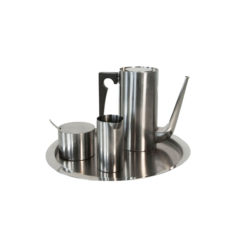Cylinda-Line Coffee set by Arne Jacobsen for Stelton 1967