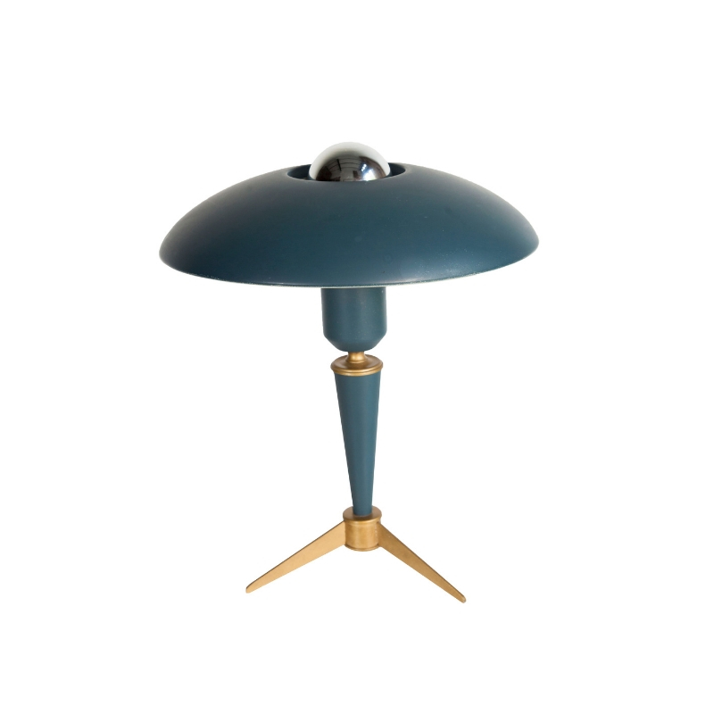 Mid-Century Tripod Table Lamp by Louis Kalff for Philips