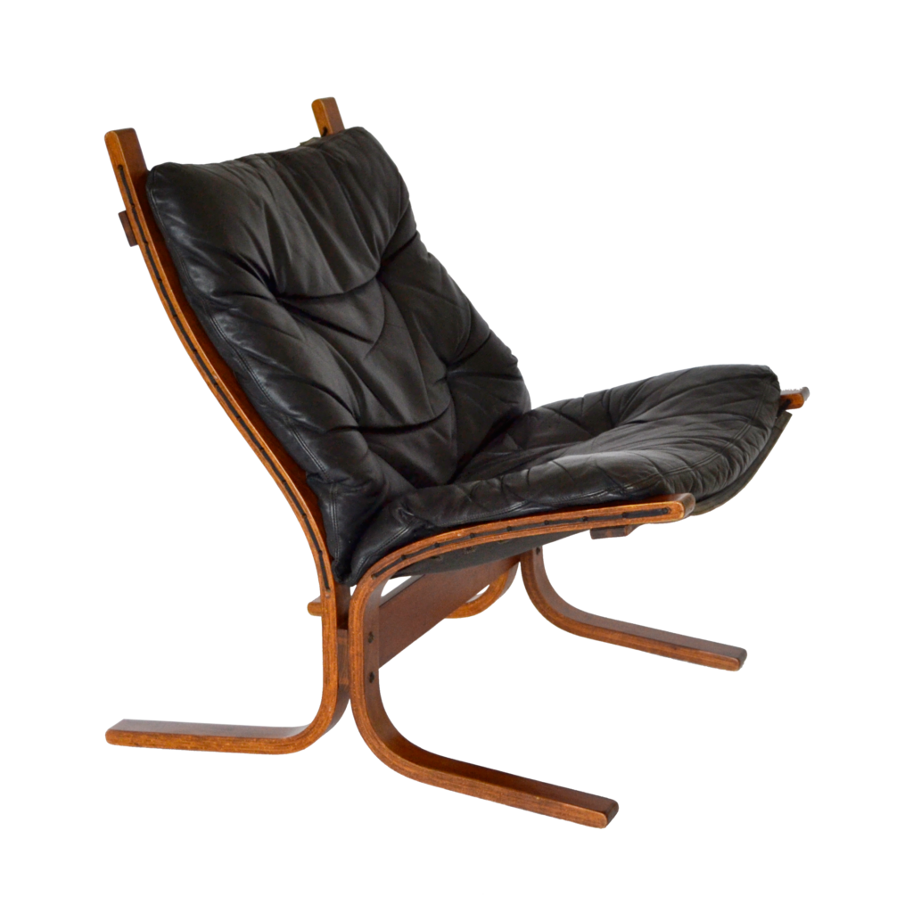 Brilliant Black Leather Siesta Chair By Ingmar Relling For Westnofa 1968 Gmtry Best Dining Table And Chair Ideas Images Gmtryco