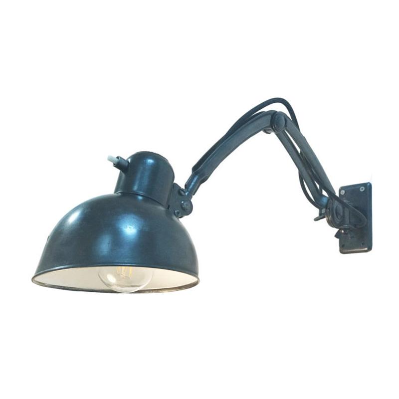 Model 6716 Wall Mounted Lamp, designer Christian Dell for Kaiser Idell, Germany, 1935