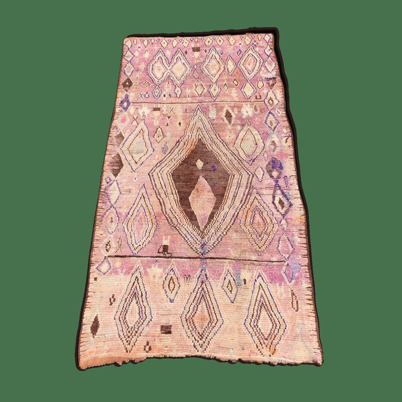 Vintage berbèr rug boujaad 190×400 cm