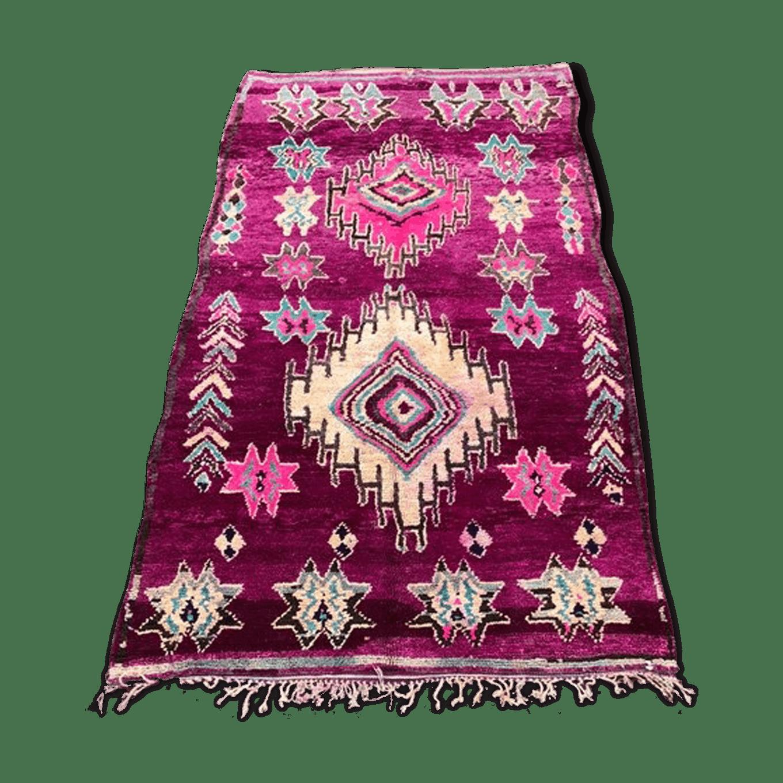 Berber rug boujaad vintage 170×340 cm