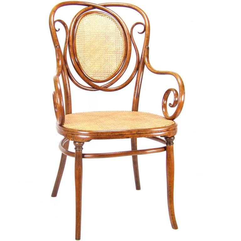 About A Chair 22 Armchair.Rare Armchair Thonet Nr 22 Circa 1887 1910