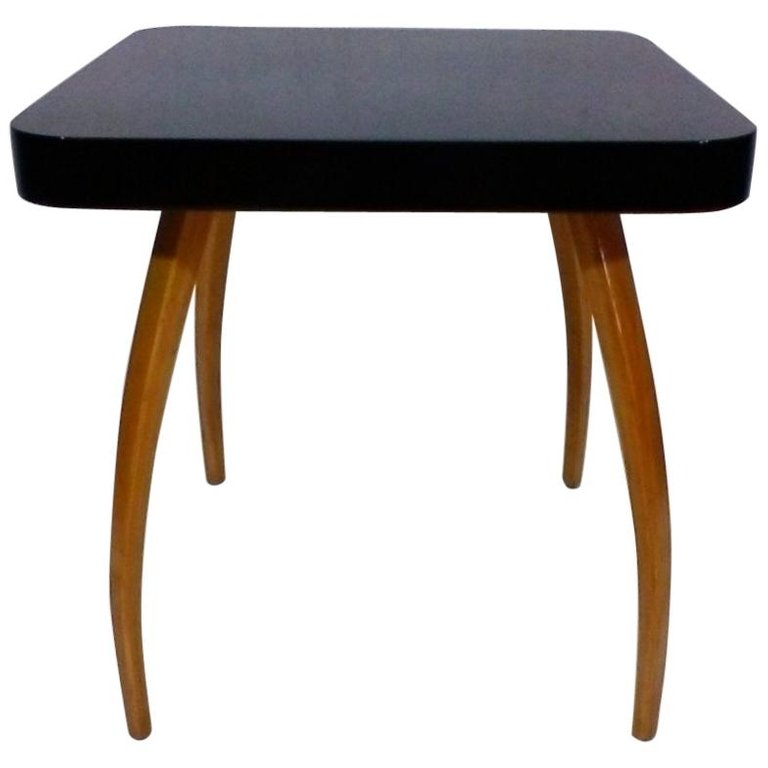 Midcentury Coffee Table 'Spider' Design by Jindřich Halabal, 1930
