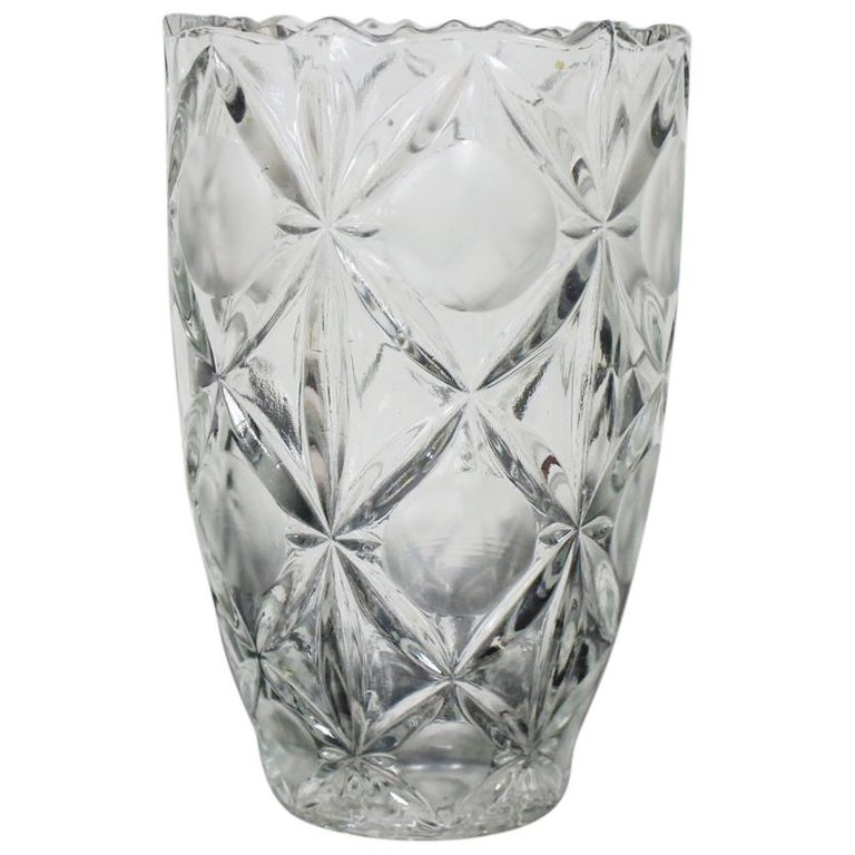 Czech Vase by Bohemia Glass, 1970s
