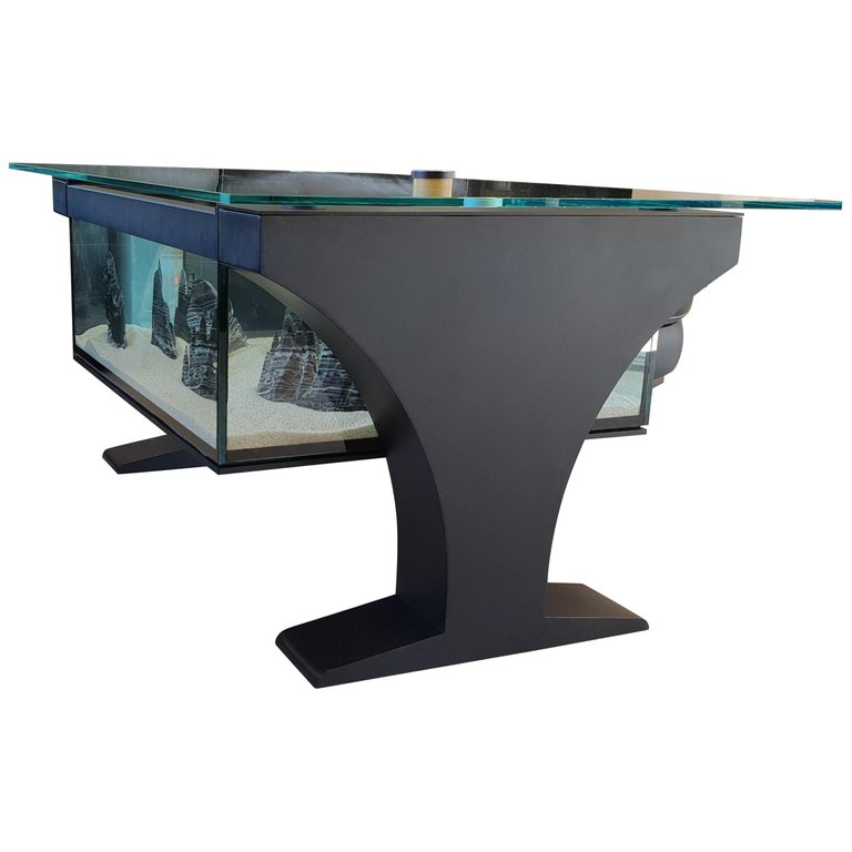Aquarium as a Coffee Table by Martin Pribyla