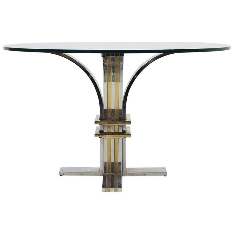 1970 Banci Firenze Round Dining Table, Italy