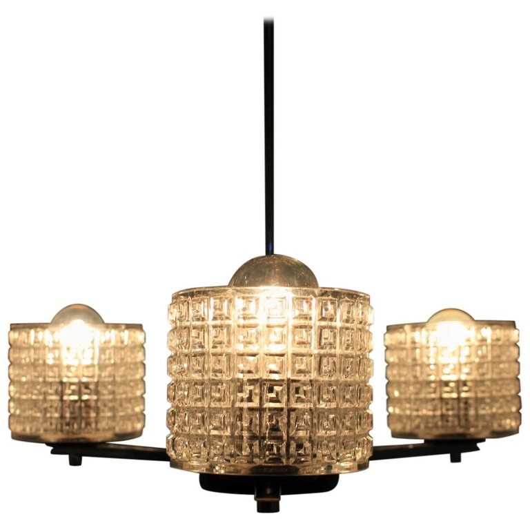 Vintage Chandelier by Lidokov, 1970s