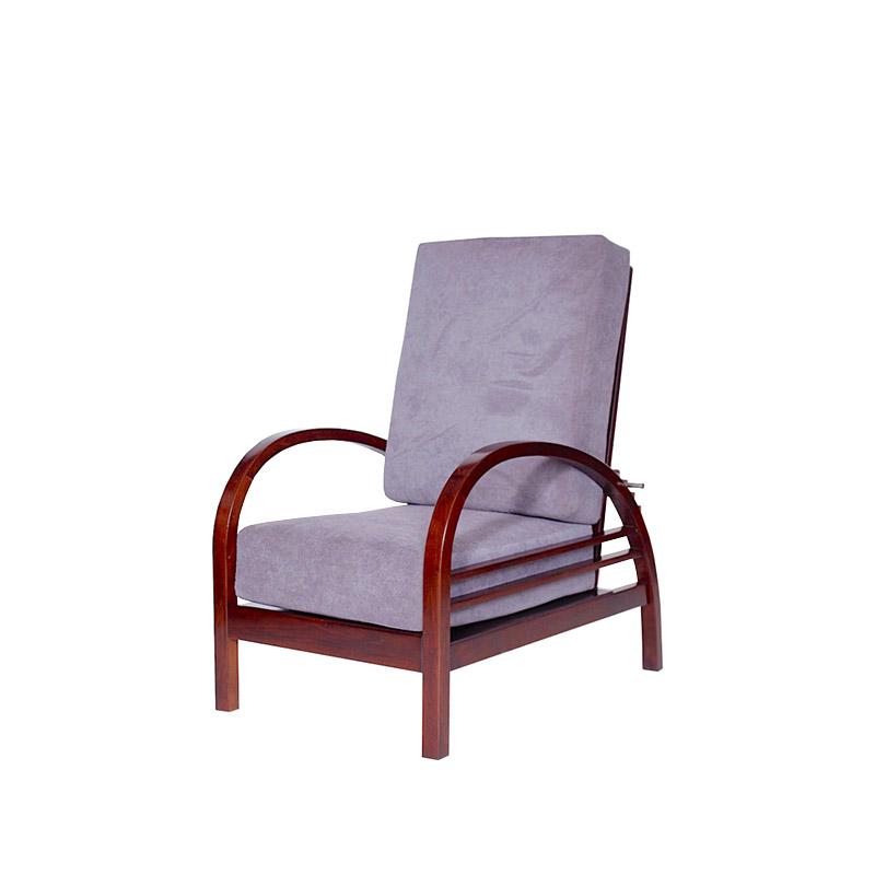 Retro adjustable armchair by Thonet, Czechoslovakia