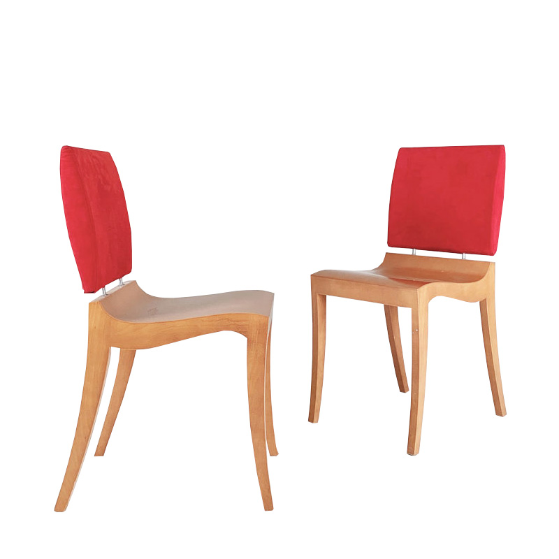 Two FINN chairs from the 1990's by Thibault Desombre for Ligne Roset