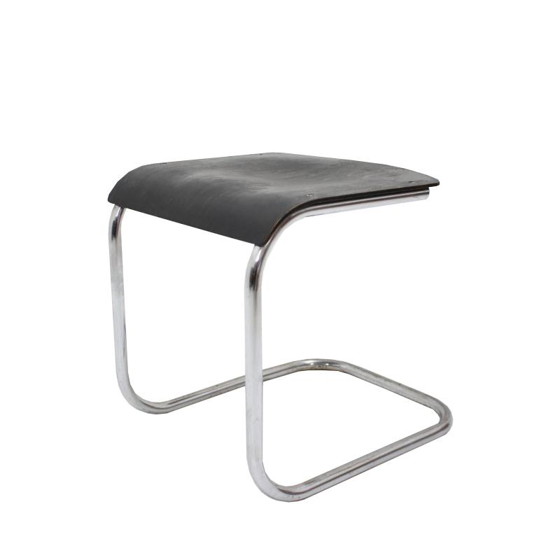 Very RARE bauhaus chrome stool / Mart Stam, 1930s