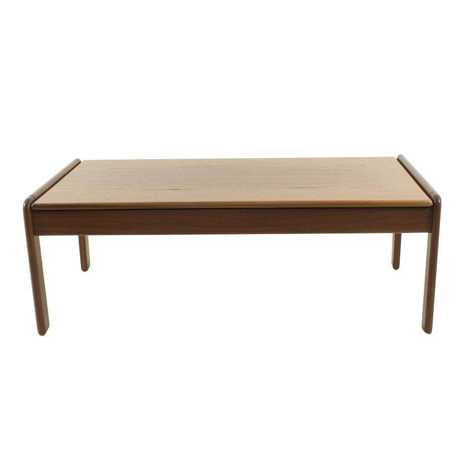 Danish Teak Side Table.Scandinavian Teak Coffee Table 1960s