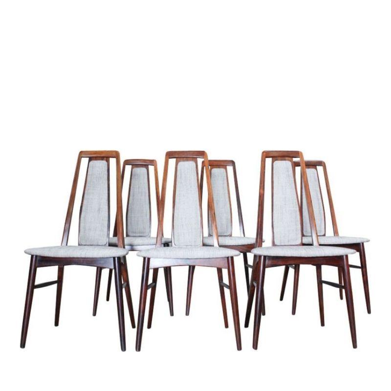 Dining Chairs by Niels Koefoed for Koefoeds Mobelfabrik, 1960s, Set of 6