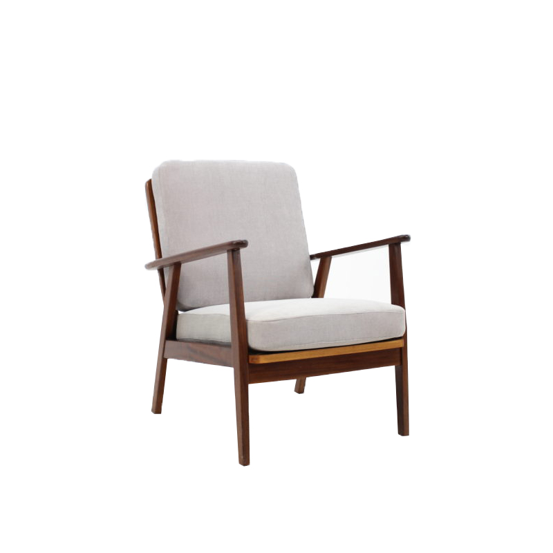 1960s Teak Easy Chair, Denmark
