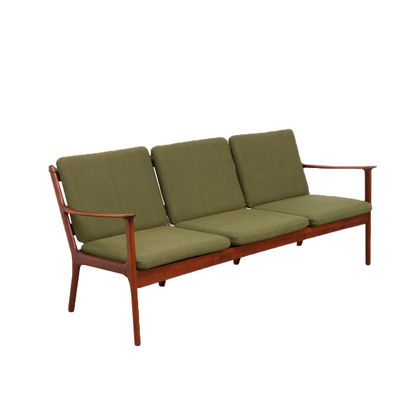 Three-Seater Sofa by Ole Wanscher for PJ