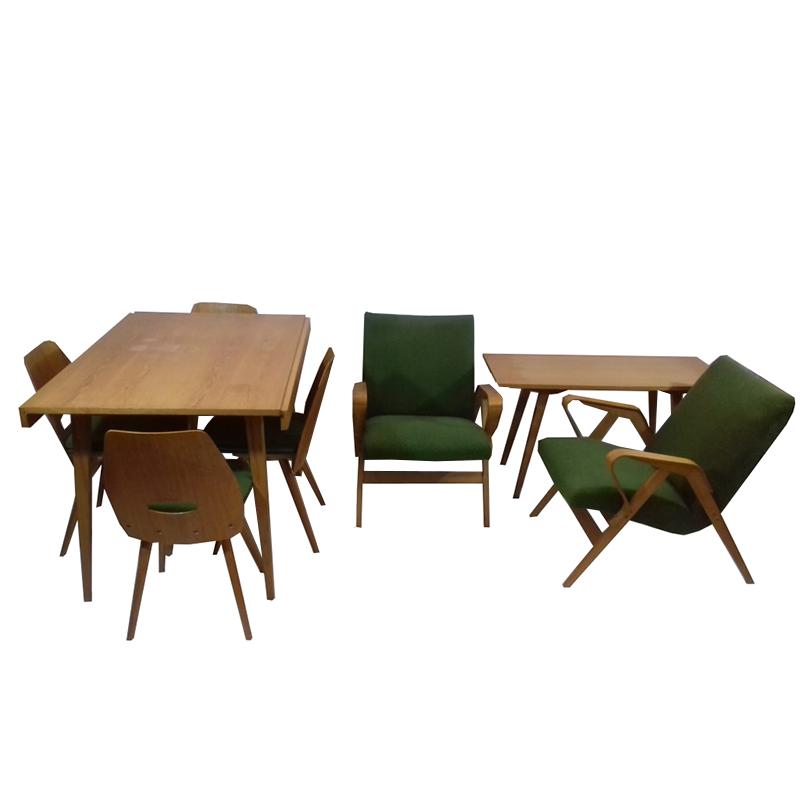 Set of retro furniture, Tatra Pravenec, 1960´s.