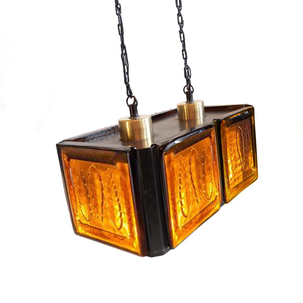 Pendant Lamp by Erik Höglund for Kosta Boda, 1960s