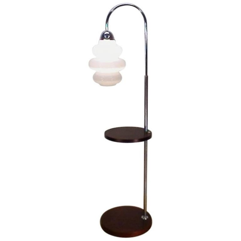 Floor Lamp Designed by Jindrich Halabala in Style Functionalism, 1930s