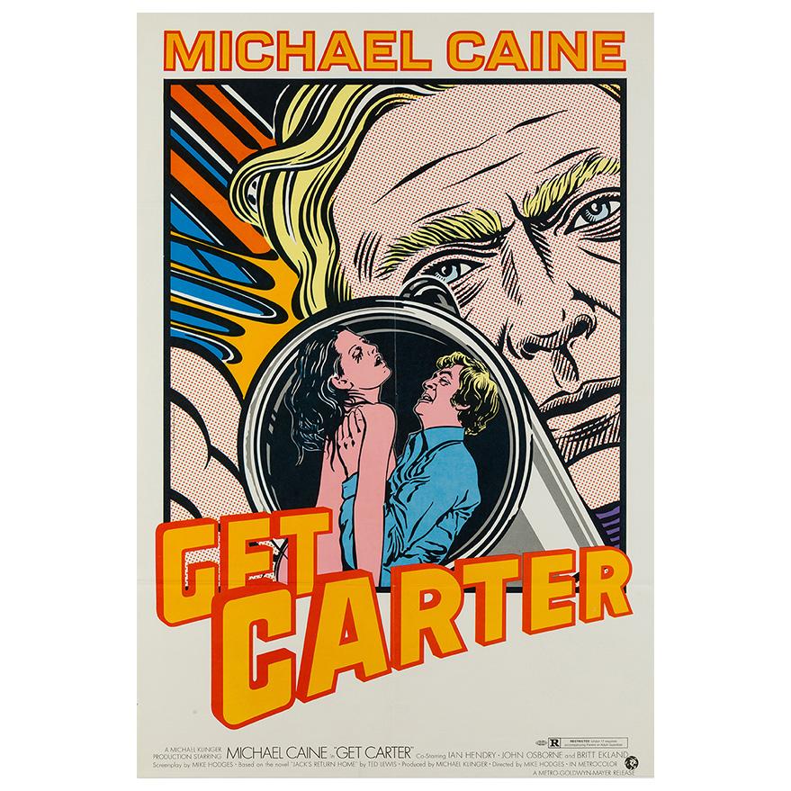 Get Carter 1971 US 1 Sheet Film/Movie Poster
