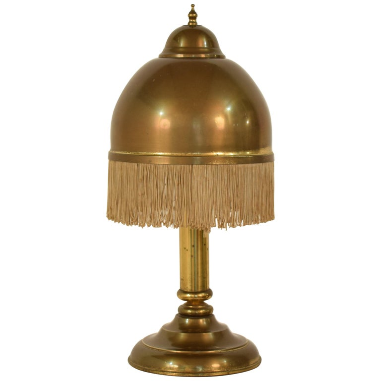 Midcentury Brass Table Lamp in the Style of Hans-Agne Jakobsson, circa 1960