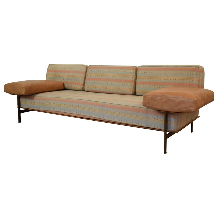 Midcentury Sofa by Antonio Citterio and Paolo Nava, Model Diesis for B&B