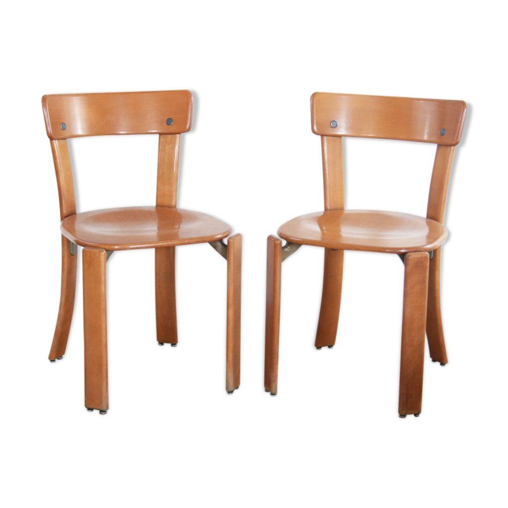 Pair of chairs Bruno Rey