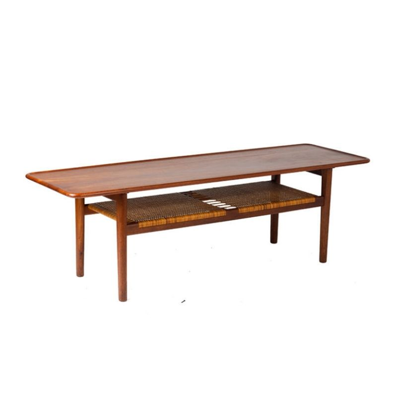 AT-10 Coffee Table by Hans Wegner for Andreas Tuck, 1950s