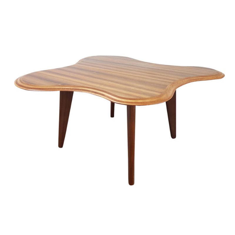 Queensland Black Walnut Cloud Coffee Table By Neil Morris For Morris Of Glasgow 1940s Design Addict Coffee Side Tables