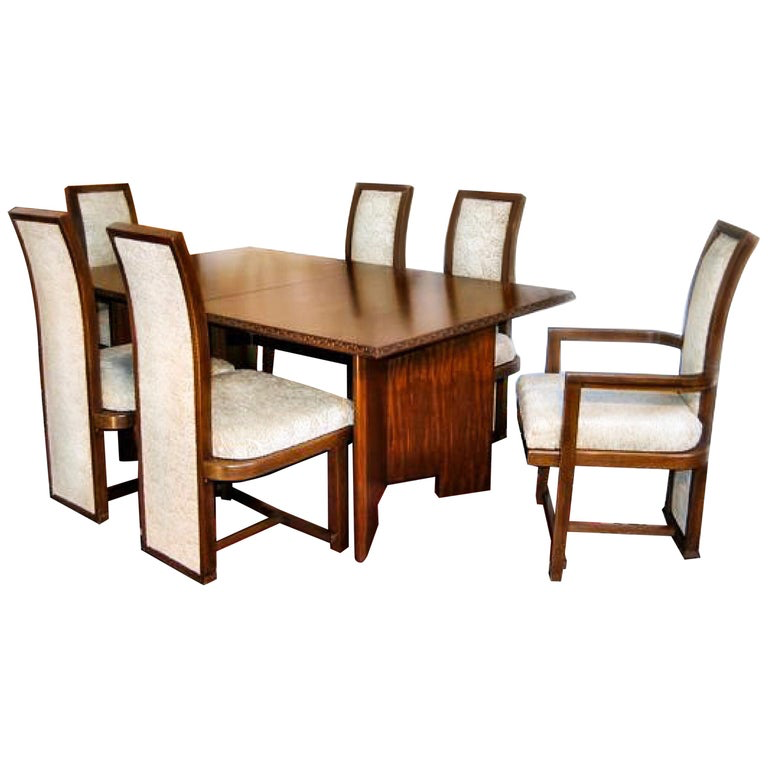 FLW Taliesin Dining Set