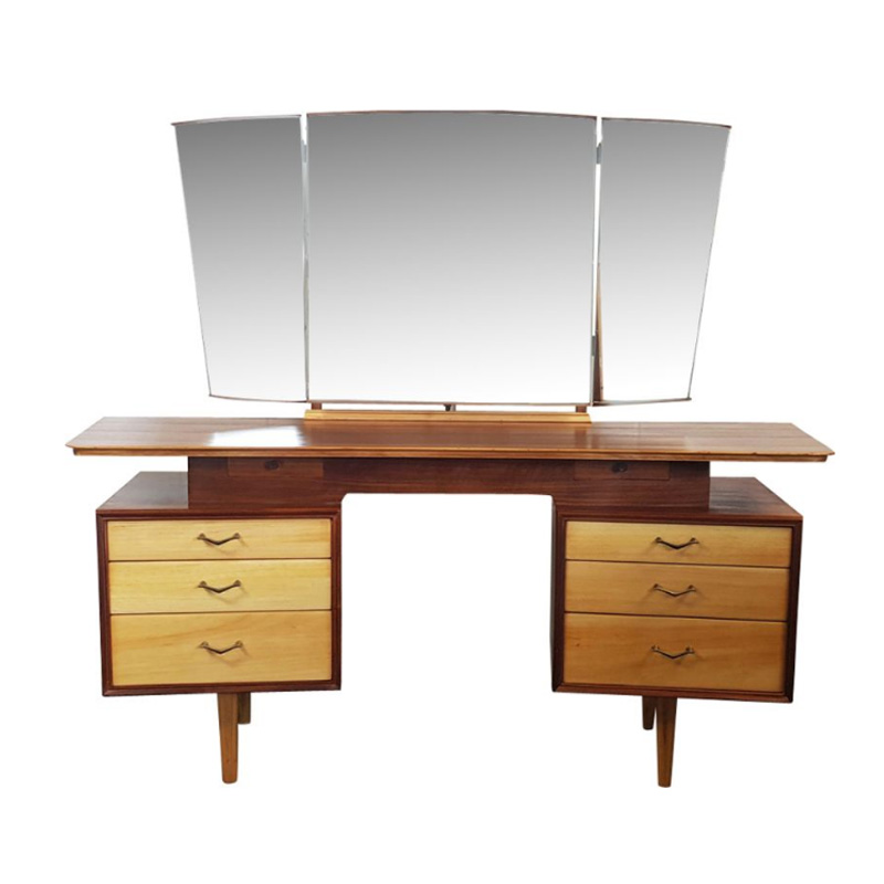 Dressing Table with Mirror by Alfred Cox for AC Furniture, 1960s