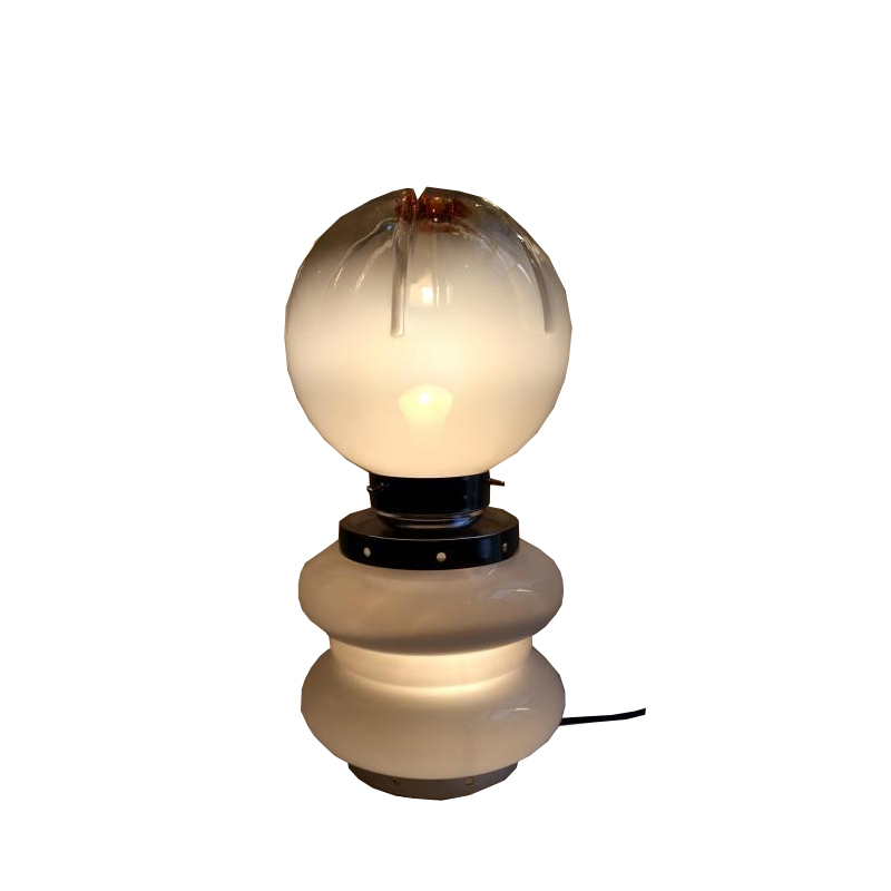 Carlo Nason – Table Lamp »Round» – circa 1960