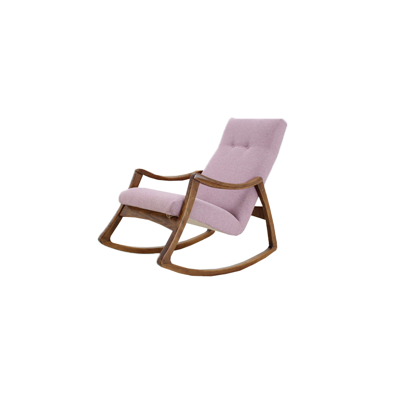 1960 Thon Rocking Chair, Czechoslovakia