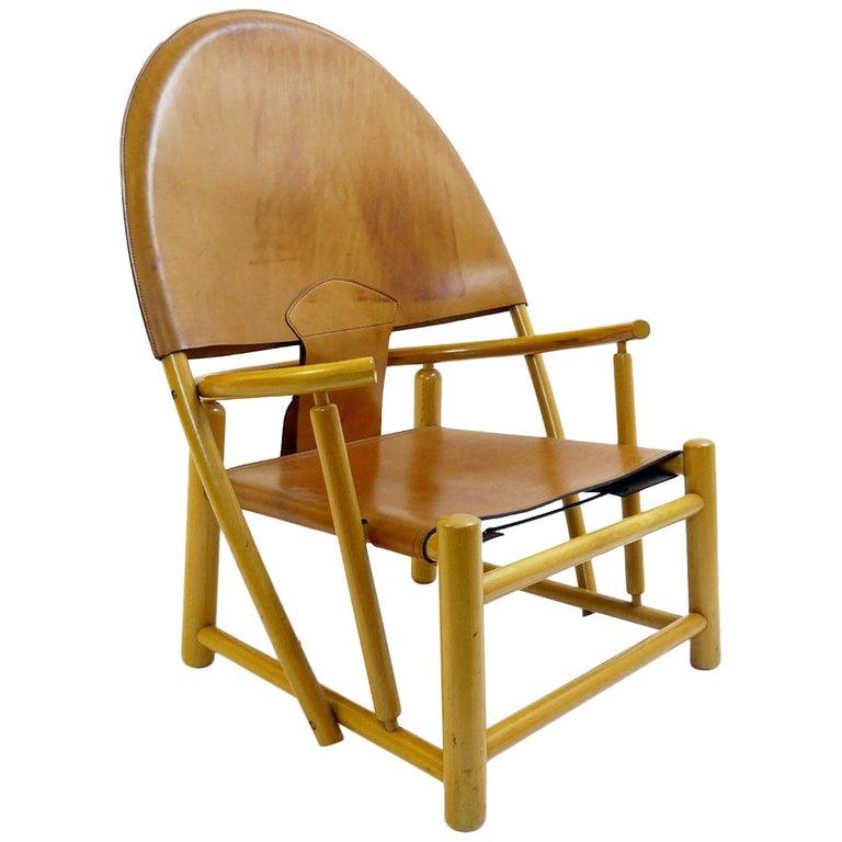 'Hoop' Lounge Chair by Piero Palange