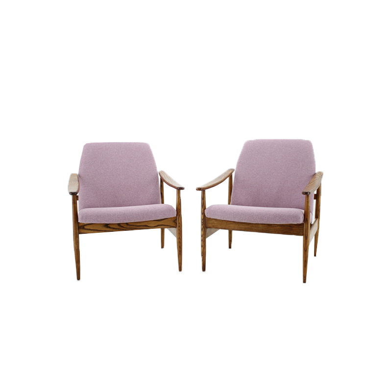 1960 Vintage armchair, set of 2