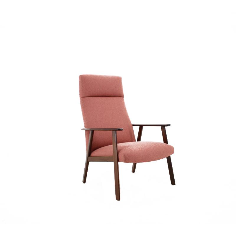 1960s Teak High Back Chair, Denmark