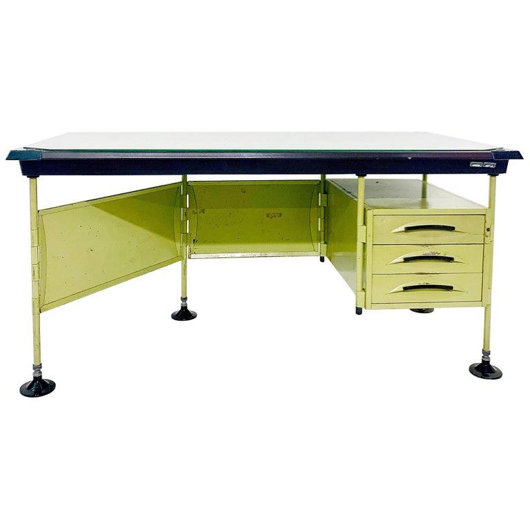 Italian modernist Spazio desk, 1959.