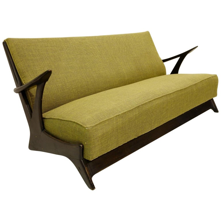 Sofa in the style of Alfred Hendrickx, 1950s