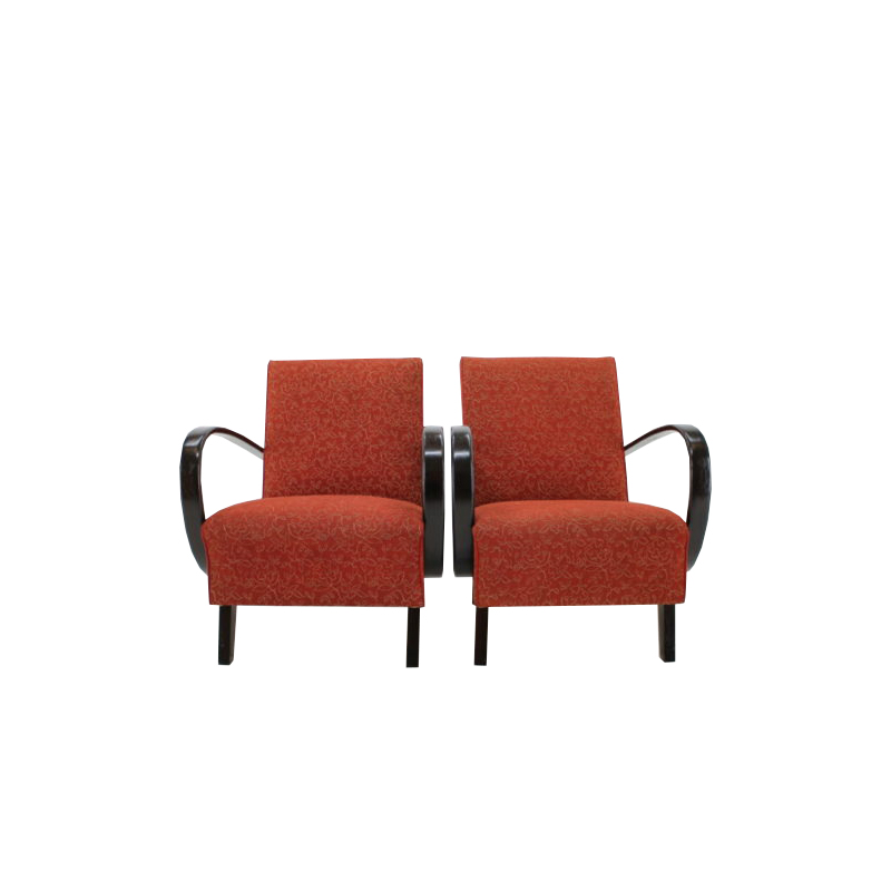 1950s Jindrich Halabala Armchair, set of 2