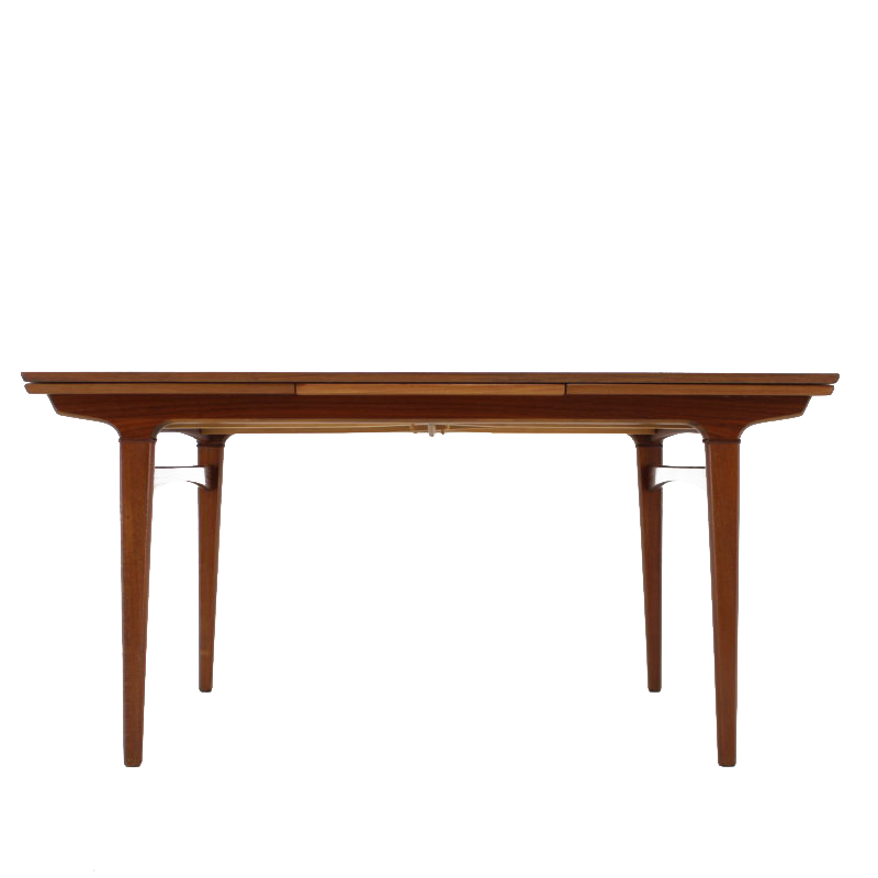 1960 Danish Teak Extendable Table